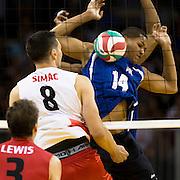 Men indoor volleyball vs Puerto Rico