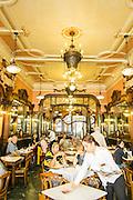 Café Majestic interior