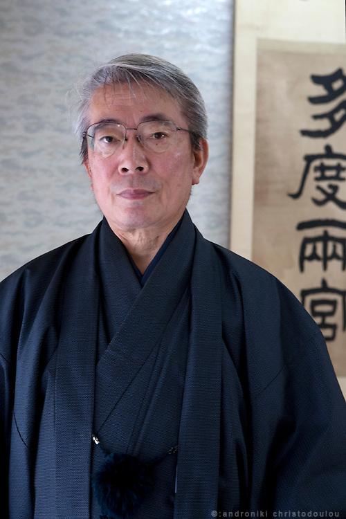 31st patriarch of Yabusame, Kiyotada Ogasawara.