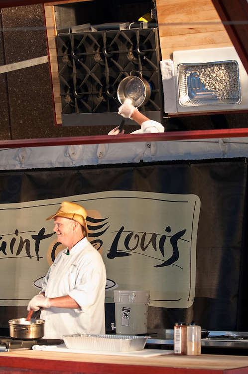 Photos from the opening night of Taste of St. Louis 2010