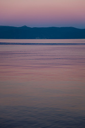 """Sunset at Lake Tahoe 7"" - This peaceful sunset was photographed from the West shore of Lake Tahoe, California."