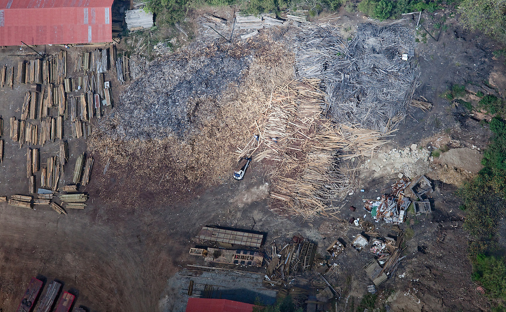 Logging plant, Guatemala