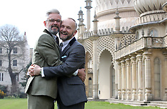 MAR 28 2014 First same sex couple in Brighton to be married