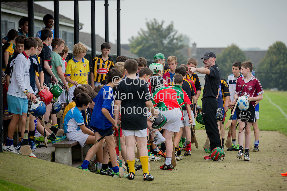17-9-14<br /> Hurling training at St Kieran's College in Kilkenny .<br /> Picture Dylan Vaughan