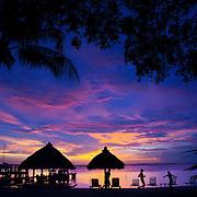 Sunset in the Florida Keys, Key Largo, FL.