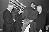 1963 - Launch reception for Irish Wool Weavers Co-operative Ltd. at the Shelbourne Hotel