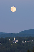 Moon and Craftsbury Common