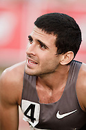 Falmouth Road Race: Falmouth Elite Mile race, David Torrence wins, post-race portrait