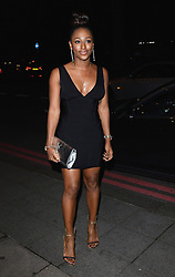 Alexandra Burke attends The Breast Cancer Care Fashion Show at The Grosvenor House Hotel, Park Lane London UK on Wednesday Ist October 2014