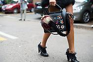 Black Fendi Bag at Fendi SS2017