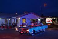 American Dreamscapes / Village Squire Motel<br /> <br /> Redmond, Oregon, USA, 2015