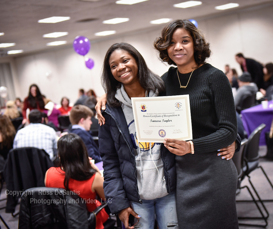 Bergen Community College held their Judith K. Winn School of Honors Recognition Ceremony at Bergen Community College in Paramus, NJ, on Monday, March 30, 2015. /Russ DeSantis Photography and Video, LLC