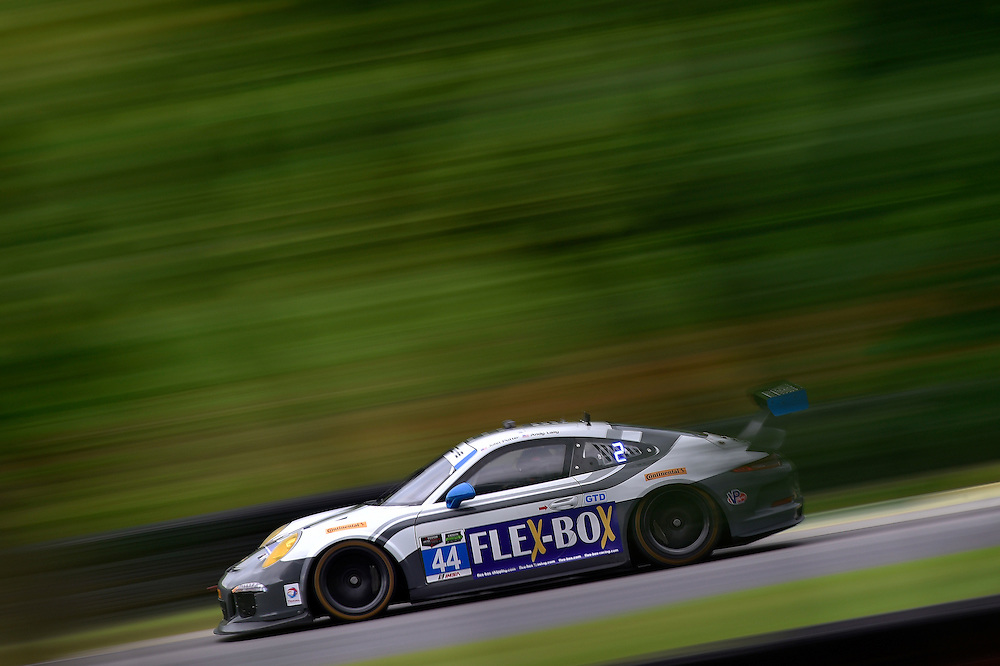 22-24 August 2014, Alton, Virginia USA<br /> 44, Porsche, 911 GT America, GTD, John Potter, Andy Lally<br /> &copy;2014, Scott R LePage <br /> LAT Photo USA