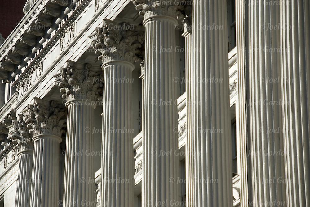Roman Corinthian Columns Joel Gordon Photography