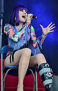 Jessie J / V Festival 2011, Hylands Park, Chelmsford, Essex, Britain - August 2011.