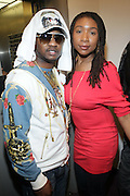 l to r: Serani and Raquiyah Mays at Metro PCS 5 Boro Tour featuring The Dream, Jasimine Sullivan and Common held at The Brooklyn Academy of Music(BAM) on March 10, 2009 in Brooklyn , NY.