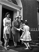 1958 - Opening of Le Pompadour Salon by Lord Mayor Catherine Byrne at 6 Upper Fitzwilliam Street