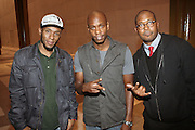 l to r: Mos Def, Dave Chappelle and Jayson Jackson at Mos Def Presents: The Amino Akaline-The Watermelon Syndicate Produced by Jill Newman at The John F. Kennedy Center for the Performing Arts on September 21, 2008 in Washington , DC