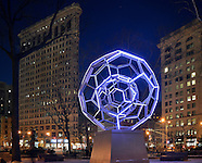 Villareal's BUCKYBALL on Flatiron District Manhattan, NYC.
