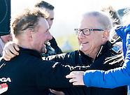 Prinsen Berhard, Maurits en Bernhard tijdens de eerste editie van de Hollandse 100 tegen lymfeklierk