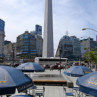 Buenos Aires constantly receives tourists from all over the world and offers a large choice cultural events, nightlife, restaurants and pubs. The City of Buenos Aires has 48 districts called barrios.Pictured: Microcentro Downtown financial and administrative heart of the city.