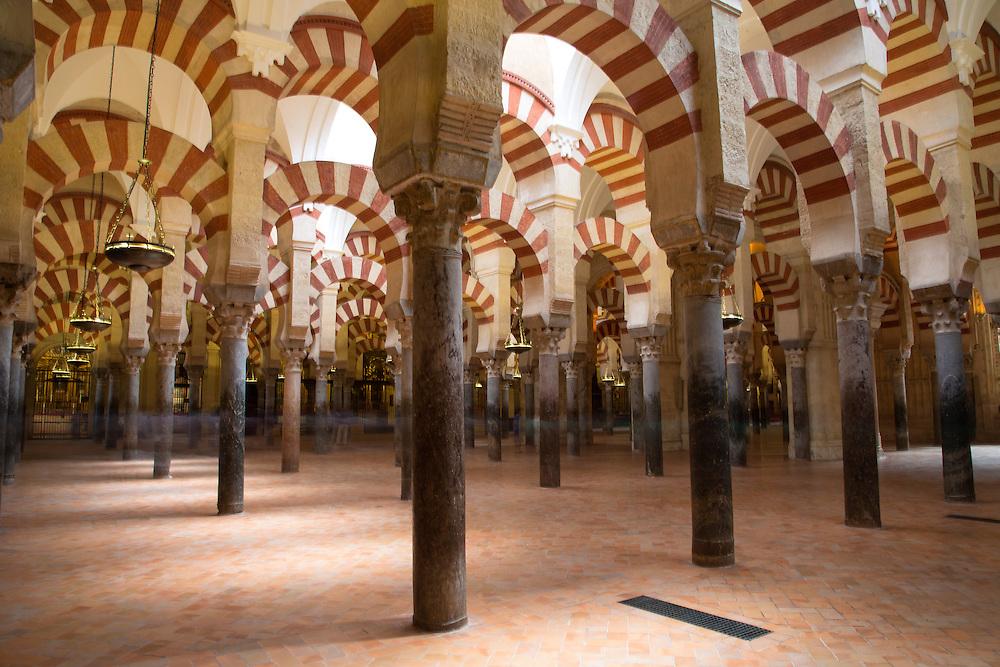 Columns of La Mezquita Cathedral (Córdoba Mosque)