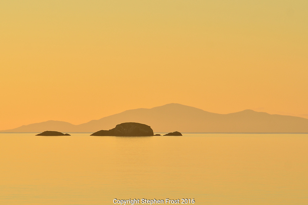 Sound of Raasay from Skye at Sunset