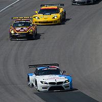 #56 Team RLL BMW BMW Z4 GTE: Dirk Muller, Joey Hand