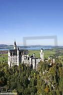 Deutschland, Bayern, Allgaeu, Schloss Neuschwanstein