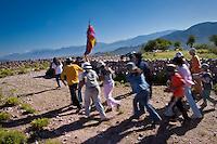 FESTEJOS DURANTE EL CARNAVAL, JUIRI, QUEBRADA DE HUMAHUACA, PROV. DE JUJUY, ARGENTINA