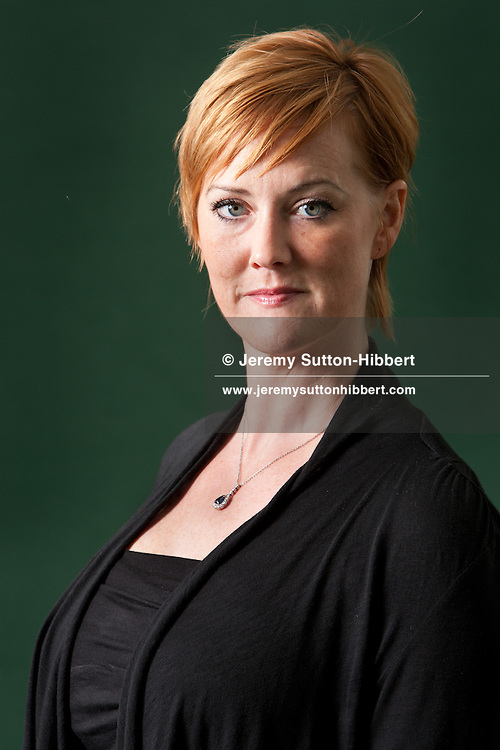 Heather Brooke, investigative journalist (responsible for breaking the story of UK's MP expenses scandal), at the annual Edinburgh International Book Festival, in Edinburgh, Scotland, Monday 29th August 2011.