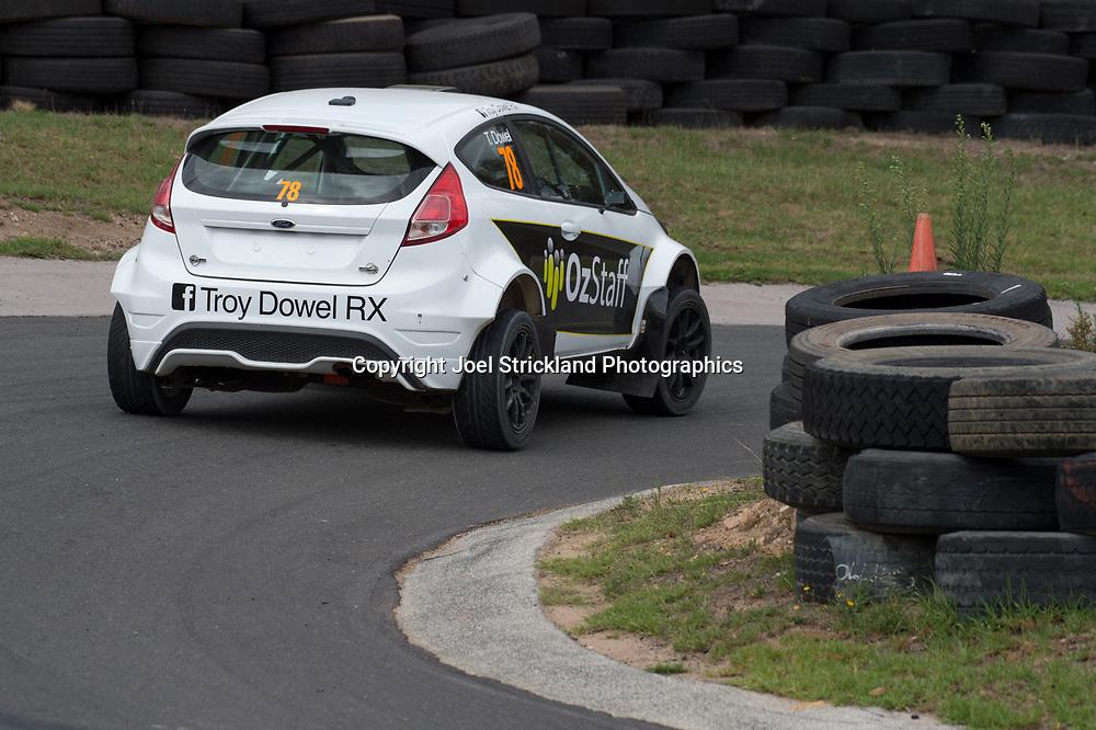 Troy Dowel - Rallycross Australia - Rnd 1 - February 26th 2017. MARULAN DIRT & TAR CIRCUITS, MARULAN, NSW