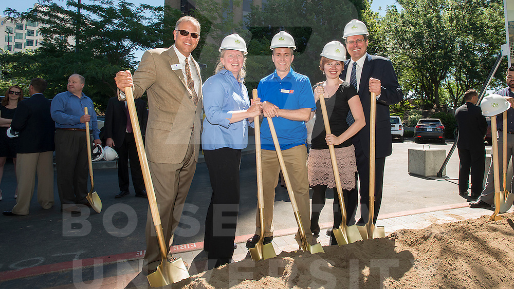 City Center Plaza Groundbreaking, Computer Science, Carrie Quinney photo