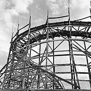 Images of Joyland.Now abandoned amusement park in Wichita, KS..January 22, 2012