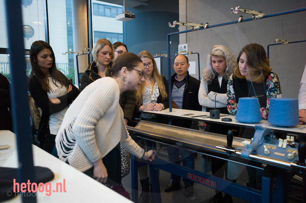 Nederland, enschede 17nov2015 <br /> Fashion and Textile Technologies @ Saxion
