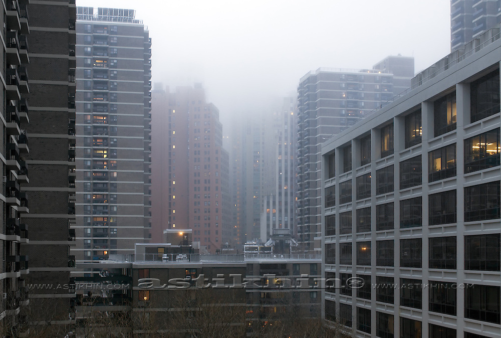 Fogy day in New York