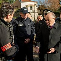 Bernard Cazeneuve presente ses voeux a l'ENSP