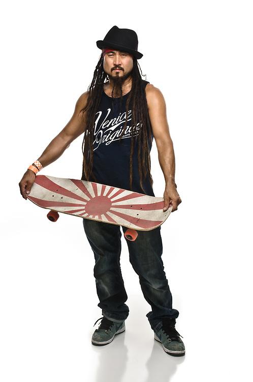 Bennett Harada, pro skateboarder