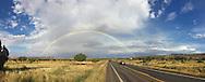 Rainbow at Buena Vista National Wildlife Refuge, Arizona. (iphone 6)