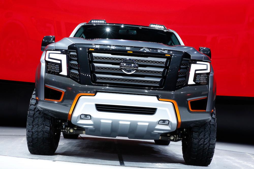 North American International Auto Show in Detroit, Tuesday, Jan. 12, 2016. (Rick Osentoski)