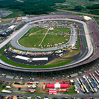Aerial photograph Dower Downs International Speedway. After it was paved.
