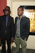 April 27, 2012- New York, NY : (L-R) Director Andrew Dosunmu and Tambay Obenson, Editor, IndieWire.com attend the New York Premiere of ' RESTLESS CITY ' presented by the African American Film Festival Releasing Movement (AFFRM) held at AMC 25 at 42nd Street on April 27, 20102 in New York City. An Official Sundance Film selection, and Directed by Andrew Dosunmu, RESTLESS CITY tells the story of a young man surviving on the fringes of New York City, where music is his passion, life is a hustle, and falling in love is his greatest risk. (Photo by Terrence Jennings).
