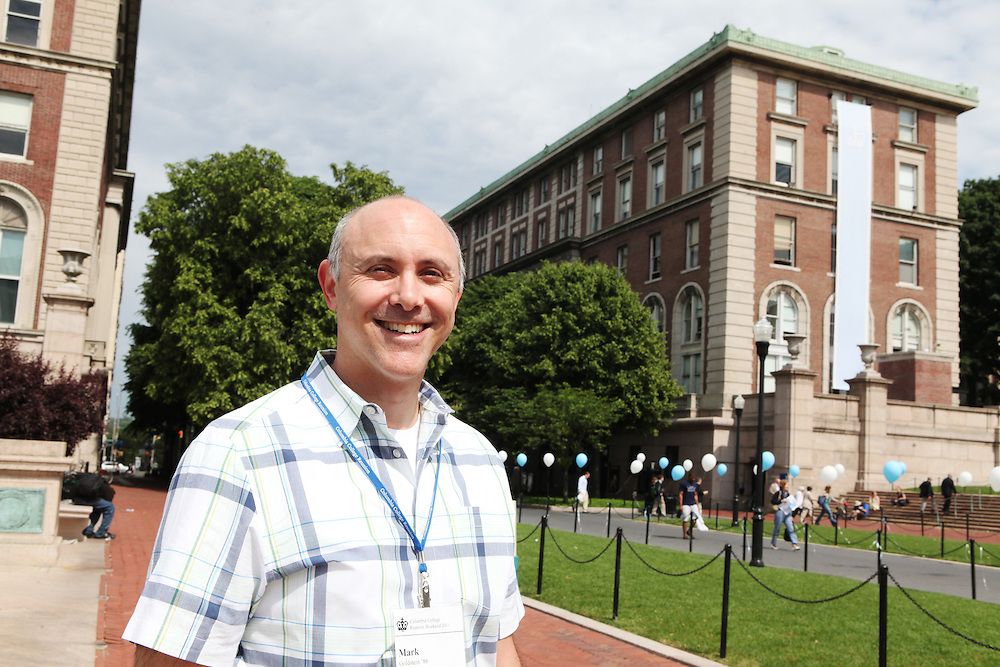 """Mark Goldstein '86..""""Whoever you meet in your freshman dorm will become your friend for life."""""""
