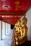 Wat Pho Silent Sentinels Buddha Statues Bangkok Thailand Temple of the Reclining Buddha