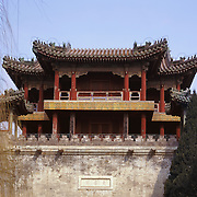 AA01223-01...CHINA  - East Palace Gate of the Summer Palace near Beijing.