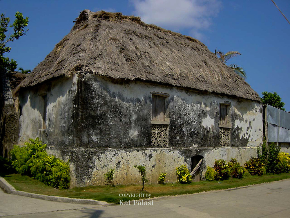 A traditional Ivatan home which is still in use to this day, Batanes, Philippines