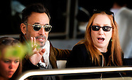 ROTTERDAM - Bruce Springsteen and Patti Scialfa attend the International Dressage Grand Prix Special in Rotterdam, Netherlands on June 22 2014. Their daughter Jessica Springsteen is a show jumping champion rider and participates in the Grand Prix.  COPYRIGHT ROBIN UTRECHT