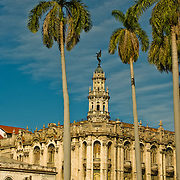 Cuba's Gran Teatro, Grand Theatre in Habana Centro, Centro Habana, Cuba.