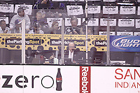 11 June 2012:  The Los Angeles Kings defeat the New Jersey Devils 6-1  during game 6 of the Stanley Cup Final at the Staples Center in Los Angeles, CA.  PA Announcer David Courtney.