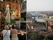 Santa Croce, interior, Florence, Italy